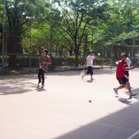 東京 テニスサークル   東京 テニススクール 社会人、大学生、ジュニアが参加の写真