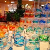 ブルーシール 琉球ガラス村 ビードロ店の写真