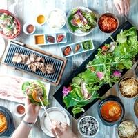 サムギョプサルと野菜 いふう銀座マロニエゲート店の写真