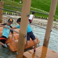 山梨県笛吹川フルーツ公園の写真