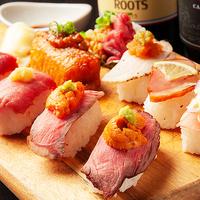 炙りにく寿司食べ放題 肉バル 29○TOKYO 岡山駅前店の写真