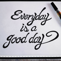 Everyday is a good day エブリデイ イズ ア グッドデイの写真