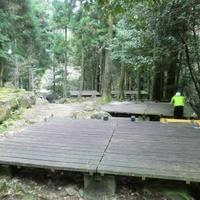 御手洗の滝キャンプ場の写真