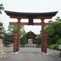 饒津神社の写真