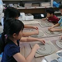 陶芸教室黒窯の写真