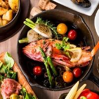個室 肉バルvs魚バル DESIGN FOOD MARKETの写真