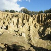 阿波の土柱の写真